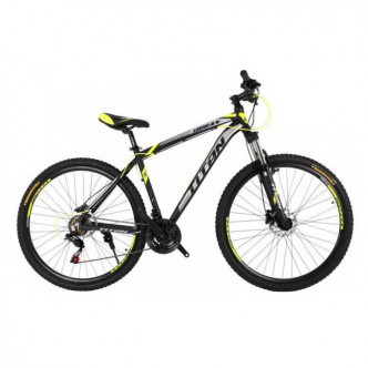 "Titan Urban К 29"" 19"" 2019 Black-Neon yellow-white (29TJAL19-340)"